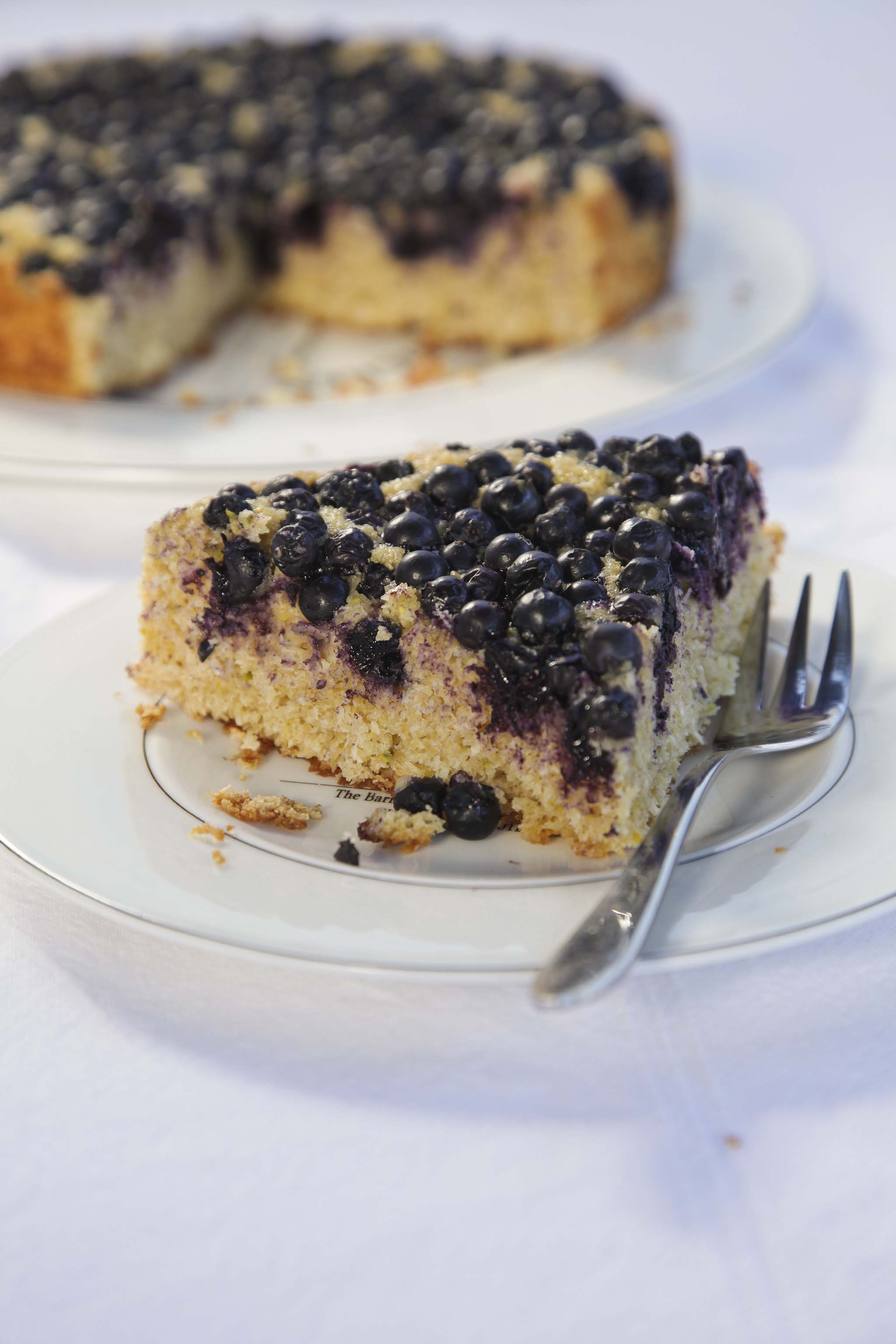 Coconut, Lime and Blueberry Cake - Rethink Central
