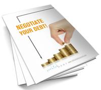 Free Ebook – Negotiate your debt!