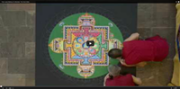 Video : Mesmerising time lapse of a mandala being created
