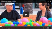 Video : What would happen if you sat with a stranger…