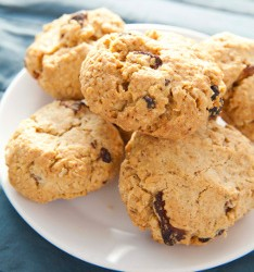Apricot Oat Cookies