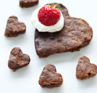 Easy (Valentine's) Brownies