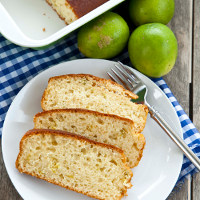 Yoghurt and Lime Cake