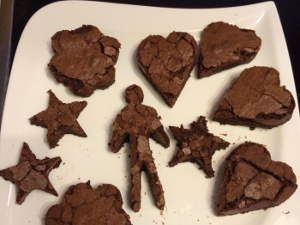 Readers Bakes : Isabel's brownies: made with love