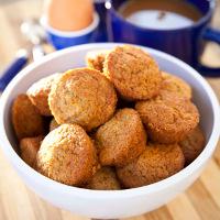 Mini Peach Muffins
