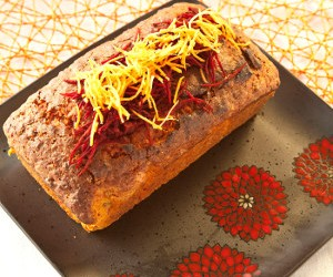 Beetroot and Carrot Loaf Cake