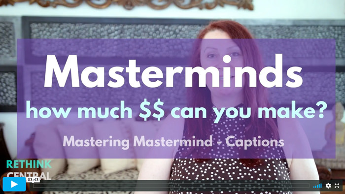 Postcards from Rethink   Masterminds - how much can you earn?   Captioned