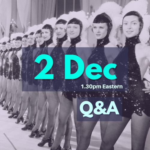 Q&A December 2nd, 2020, 1.30pm Eastern