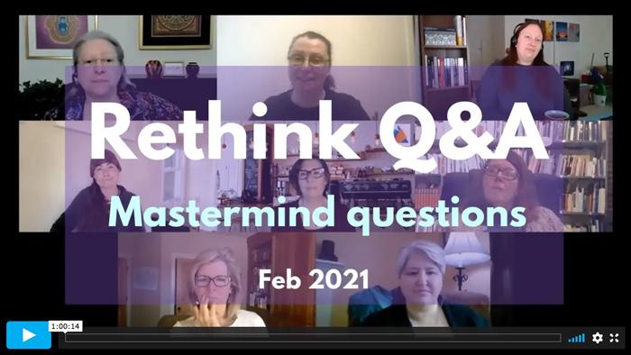 Rethink Q&A   February 2021