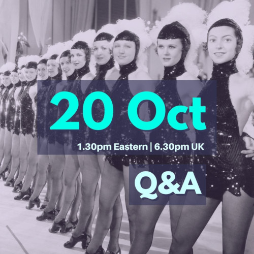 Q&A October 20, 2021, 1.30pm Eastern