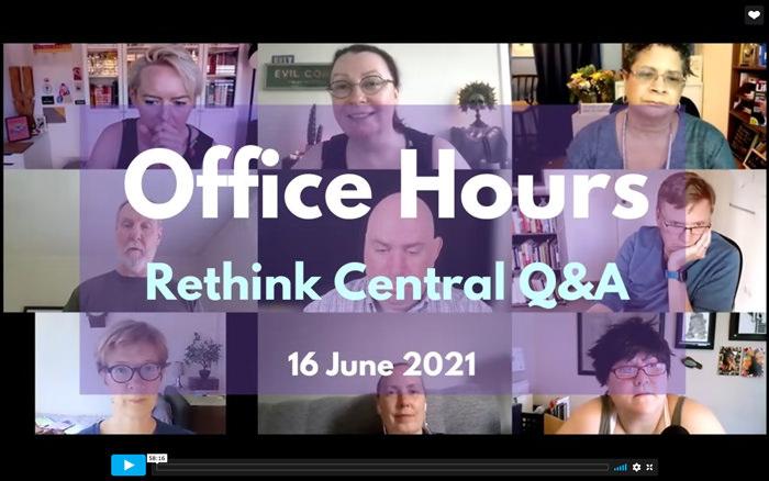 Rethink Q&A June 2021